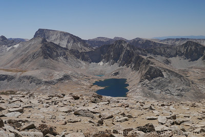 Wales Lake and Mt Whitney