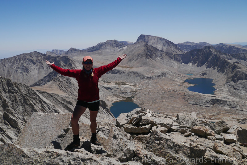Made it! Highest non-14er in California.