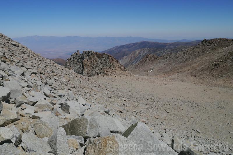 Almost off the peak.