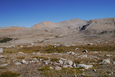 Looking across towards Tyndall Creek. It's where we came down the JMT several days back.