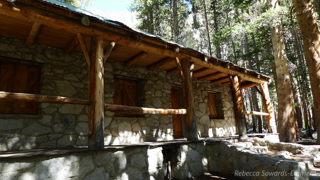 Lon Chaney's cabin