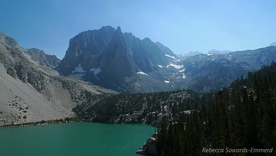 Second Lake and the impressive Temple Crag