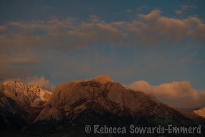 Lone Pine Peak at Sunrise