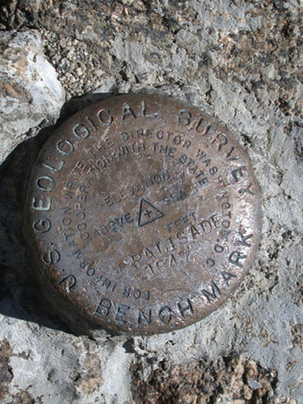 One Summit USGS Benchmark