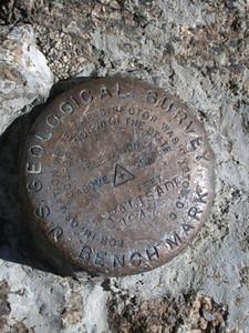 One Summit USGS Benchmark