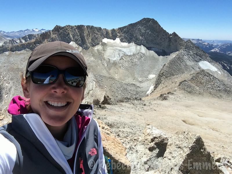 Oh yeah, summit selfie