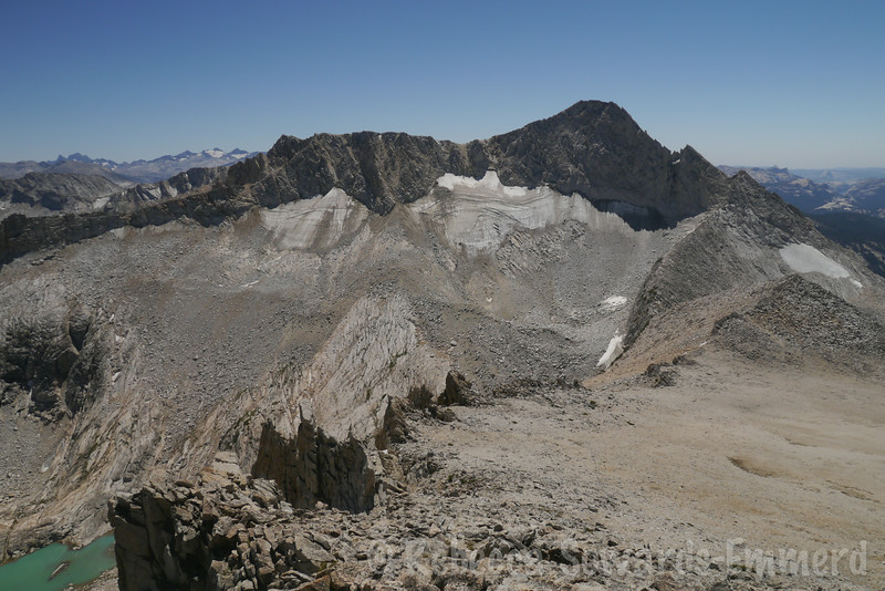 Mighty Conness, across from us. Another great climb, that peak!