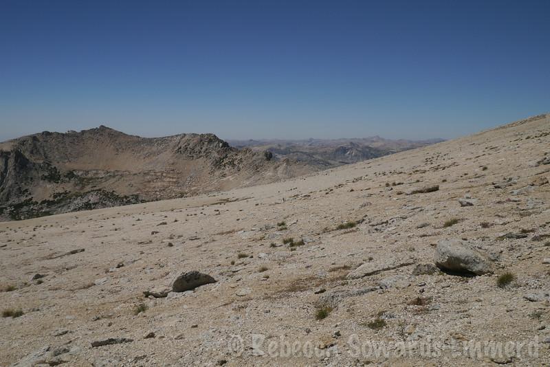 Big sandy plateau...easy walkin'