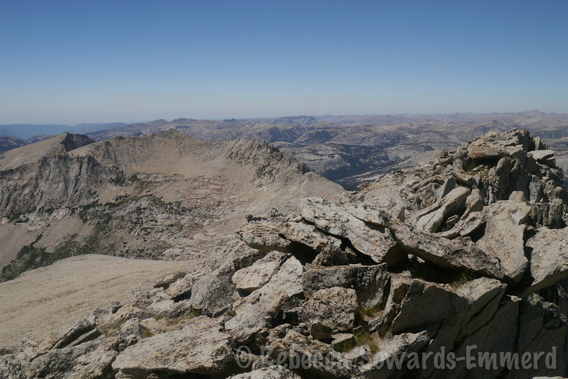 Looking into the domelands of northern yosemite and emigrant
