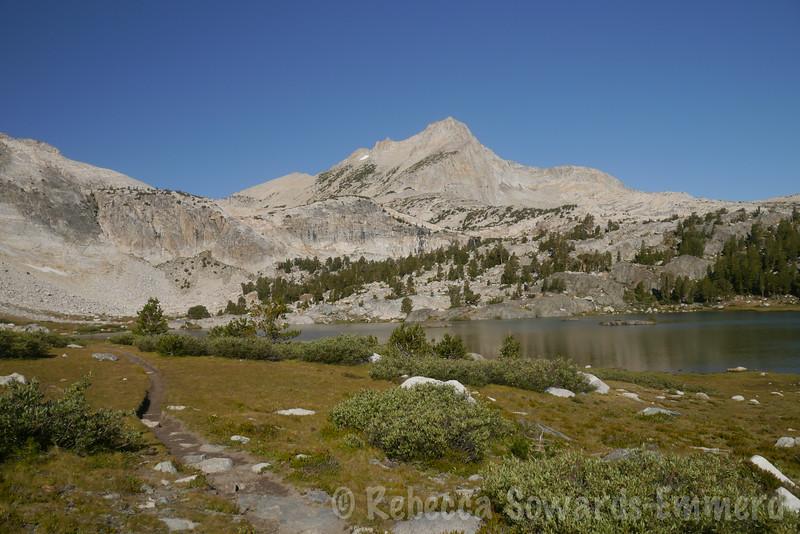 North Peak and Greenstone Lake.