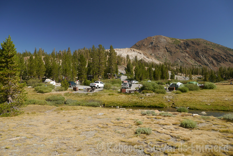 We stayed at Tioga Lake campground. It always looked small and cramped but was surprisingly nice.