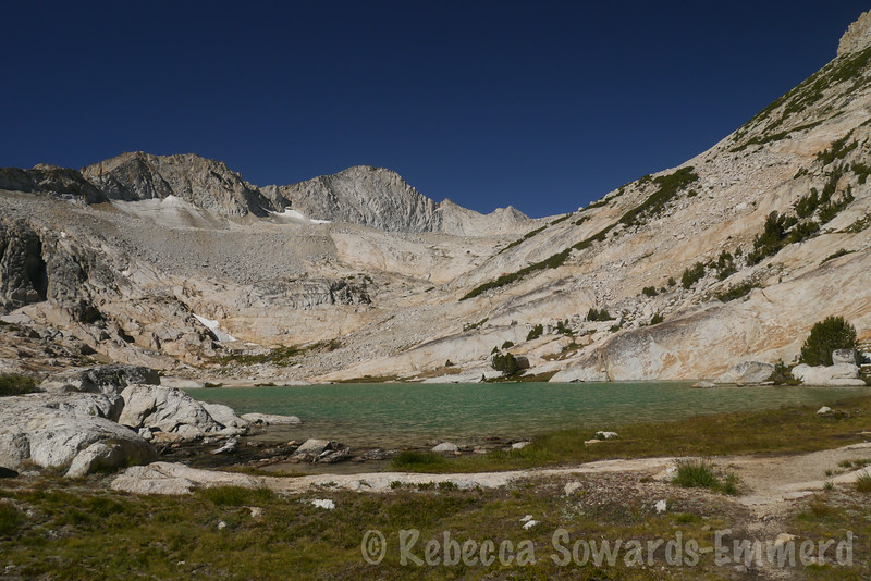 Each lake has a gorgeous blue-green turquoise shade thanks to the glacial runoff