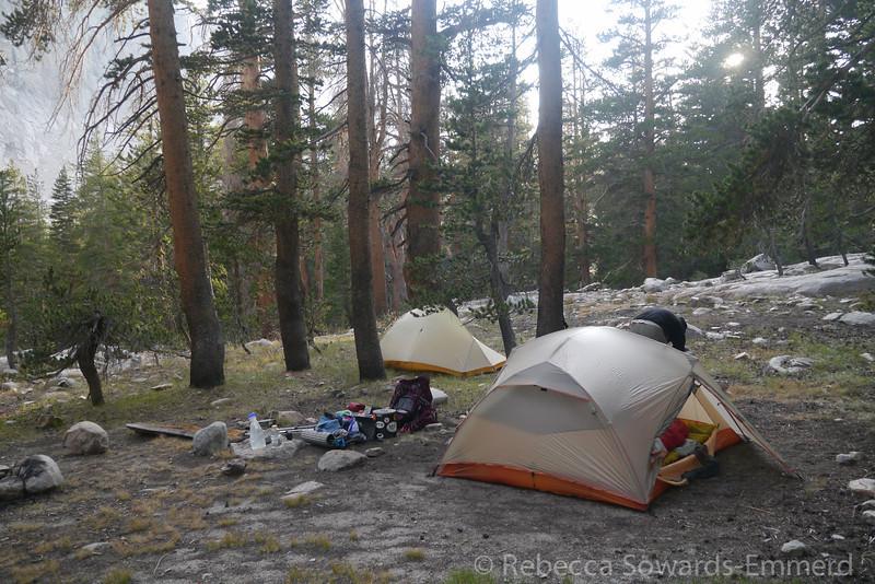 Campsite in Vidette