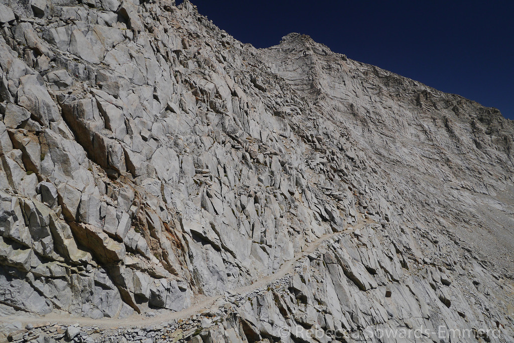 One of my favorite sections of the JMT, at least going down. Not as fun to go up.