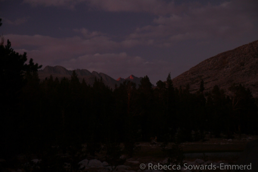 Last light on the Kings-Kern Divide