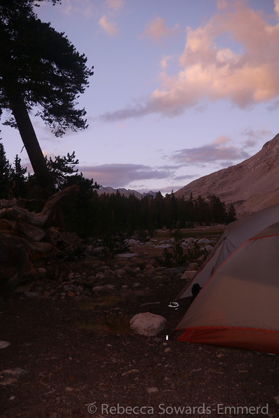 Views from camp on the west side of Tawny Point (unnamed lake)