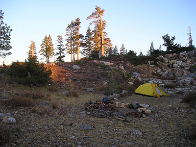 Camp - home sweet home.