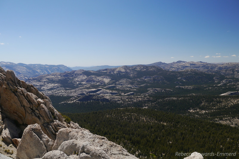 Beautiful domes of northern yosemite.