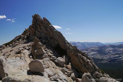 Sub-summit pile of Ragged.