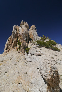 Summit piles. I left my camera and pack at the saddle and scrambled up. Awesome rock scramble and I wish I brought my camera along!