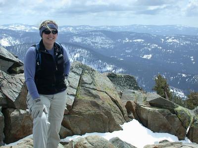 Bex on the summit