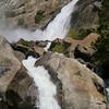 Wapama Falls and cascades