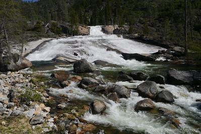 Rancheria Falls cascades