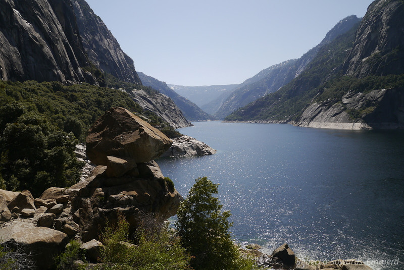 Looking east across Hetch Hetchy
