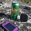 Camp luxury: Sierra Nevada Torpedo, and sending an 'ok' message via my Spot Connect and iPhone (nicely protected by a Lifeproof case).
