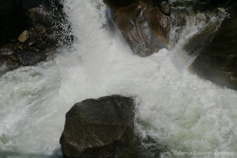 Cascades along Wapama Falls