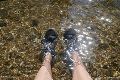 My feet certainly appreciated the refresh.