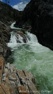 Churning water at Rancheria Falls