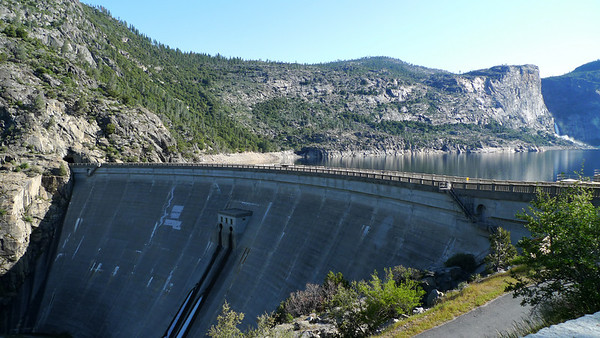 O'Shaughnessy Dam at Hetch Hetchy.