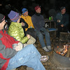 We met everyone at the Wawona Group Camp on New Year's Eve. It was cold but the roaring campfire kept us warm until midnight and beyond.
