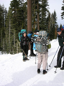 It seems that with snowcamping, all lightweight backpacking techniques are tossed out the door.