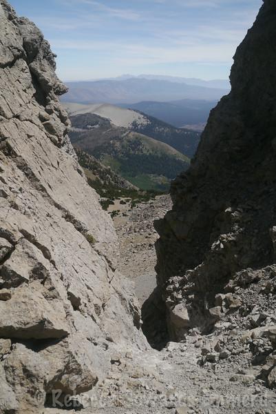 Some neat little windows on the ridge - it's just like Mt Whitney!