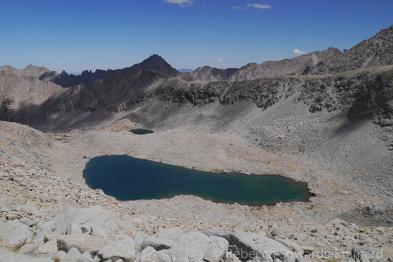 Gorgeous unnamed lake on the north side of Forester.