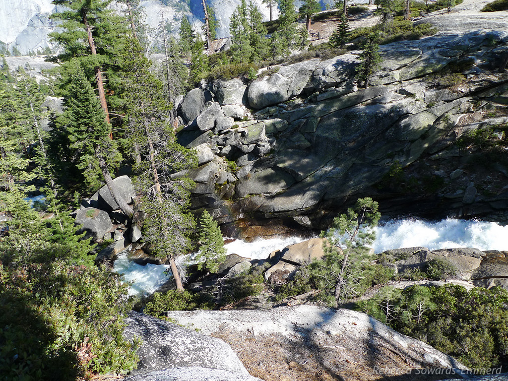 Snow Creek, just above the falls