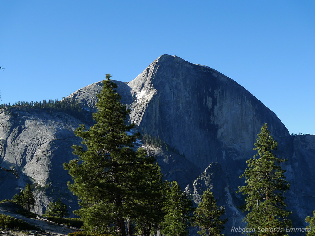 Half Dome in the morning