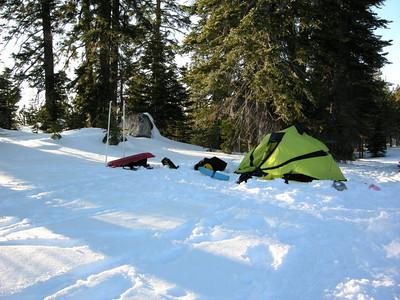 Navi's camp.