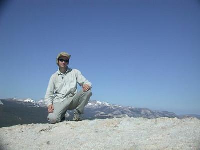 Dave on Lembert Dome