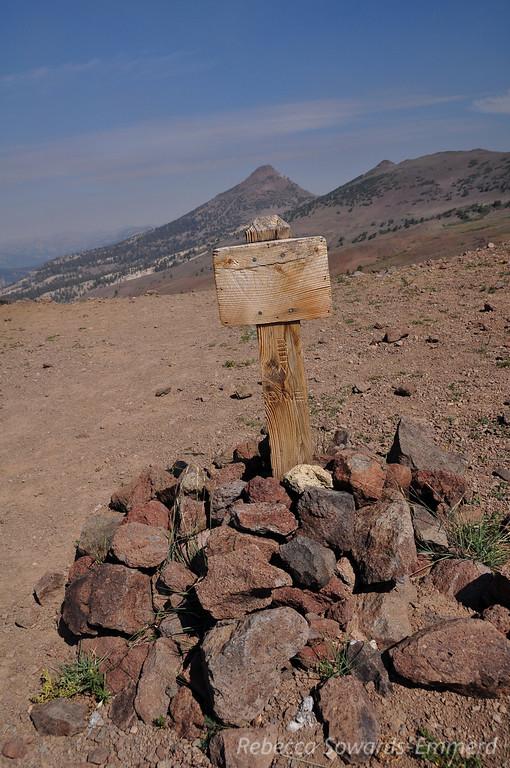 St Mary's Pass sign, presumably.