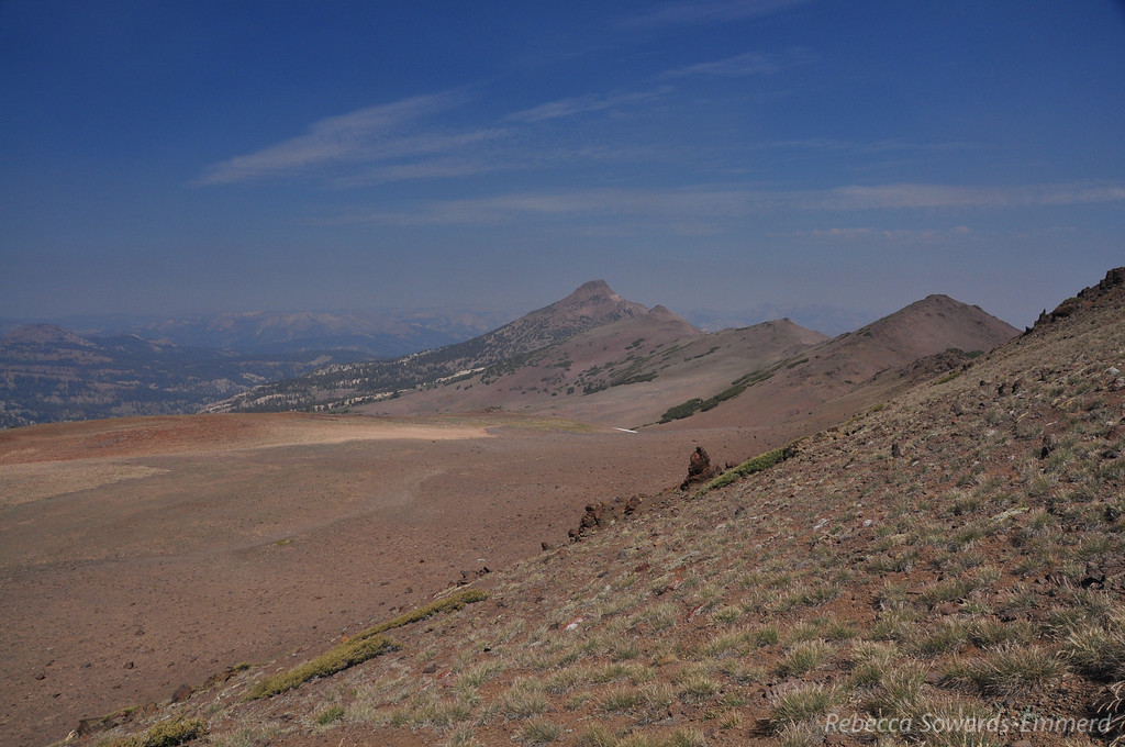 Looking north towards Stanislaus Peak. Looks like a really cool ridge hike - wish my lungs weren't burning or we would have done it.