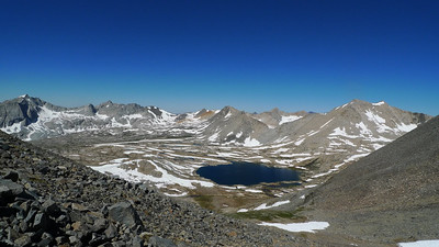 Mather Pass looks so puny from here.