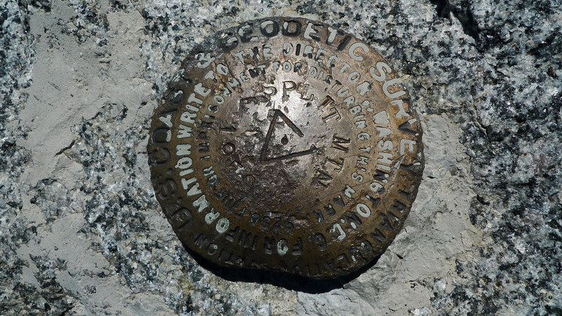 Split Mountain benchmark