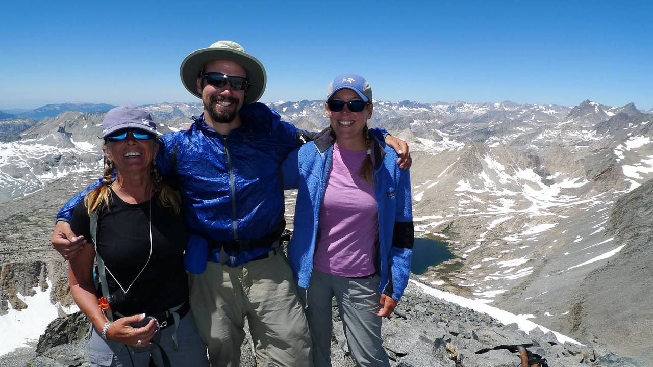 One the summit of Split Mountain, 14,058. My Fourth 14er!