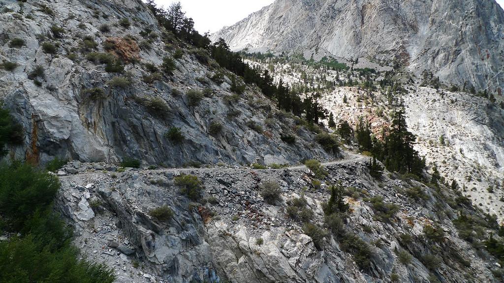 Pine Creek trail - old mining road.