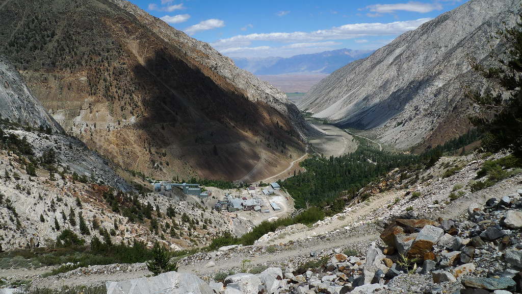 Pine Creek Tungsten Mine