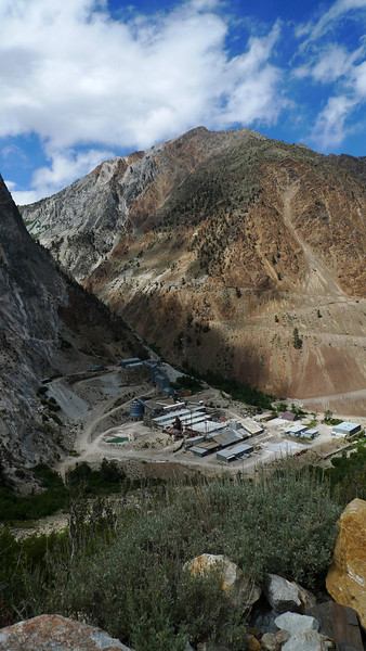 Pine Creek tungsten mine.