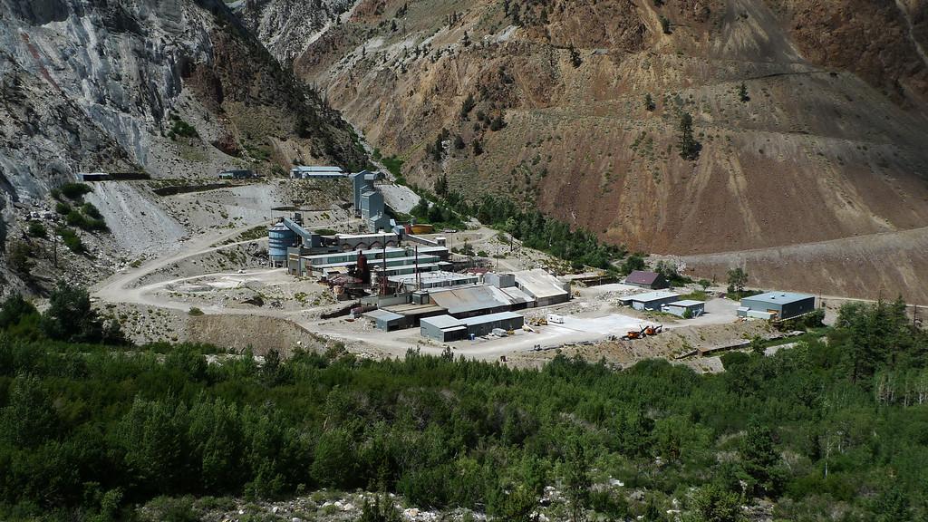 Pine Creek tungsten mine.